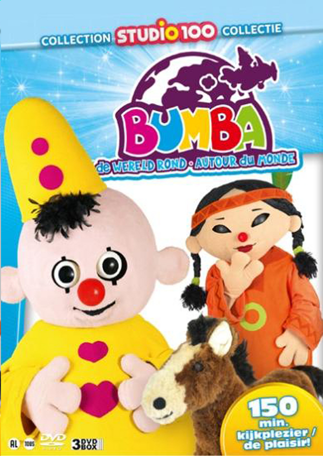Dvd-box Bumba De wereld rond Volume 2 | ColliShop