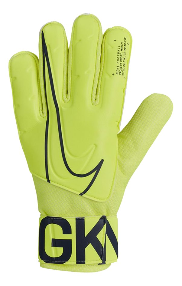 Nike keeperhandschoenen Junior Match lime