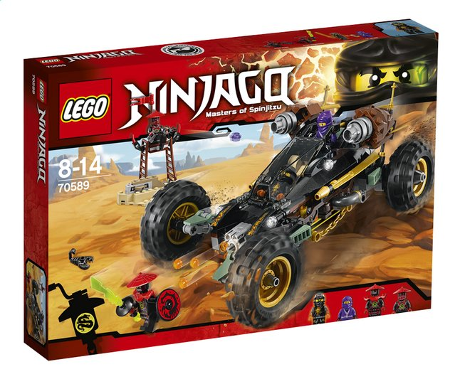 Afbeelding van LEGO Ninjago 70589 Rock Roader from ColliShop