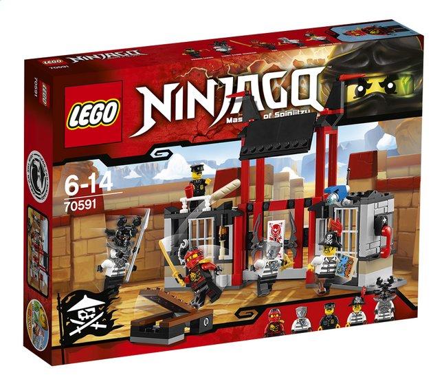 Image pour LEGO Ninjago 70591 L'évasion de la prison de Kryptarium à partir de ColliShop