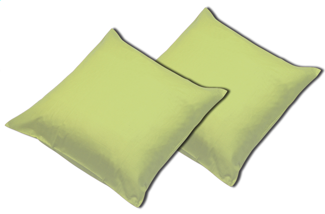Image pour Sleepnight set de 2 taies d'oreiller lime en coton à partir de ColliShop