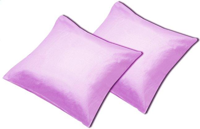 Image pour Sleepnight set de 2 taies d'oreiller lilas en coton à partir de ColliShop