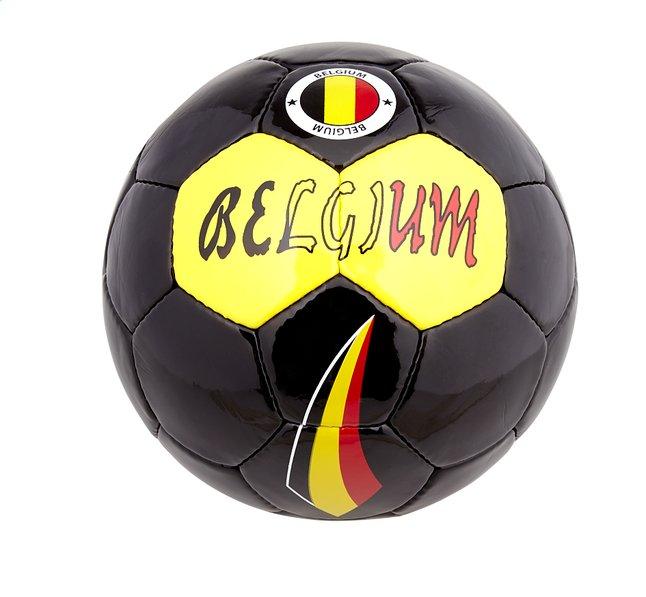 Image pour Ballon de football Belgique noir taille 5 à partir de ColliShop