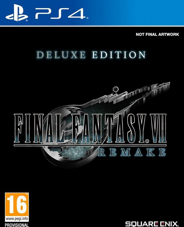 Image pour PS4 Final Fantasy VII Remake Deluxe Edition FR/ANG à partir de ColliShop