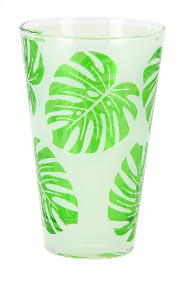 Afbeelding van Cerve 6 glazen Paradise Leaf 31 cl from ColliShop