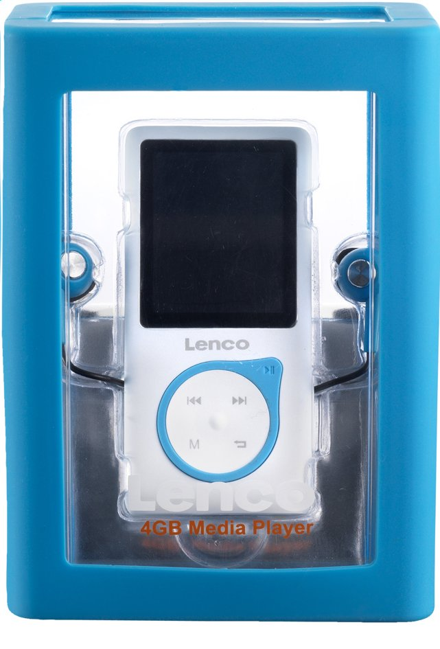 Image pour Lenco lecteur MP4 Xemio-657 4 Go bleu à partir de ColliShop