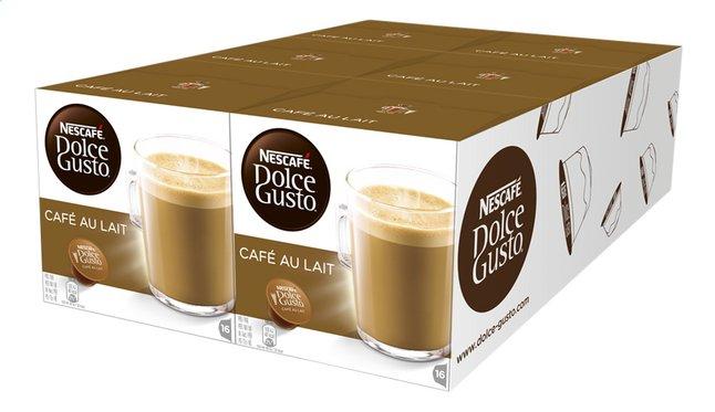 Image pour Nescafé Capsules Dolce Gusto Café au Lait - 6 boîtes à partir de ColliShop