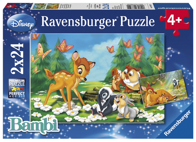 Afbeelding van Ravensburger puzzel 2-in-1 Mijn vriendje Bambi from ColliShop