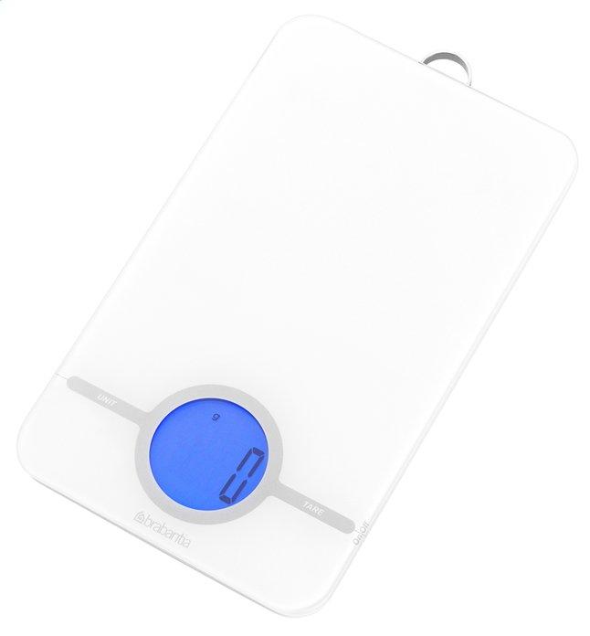 Image pour Brabantia balance de cuisine numérique Essential blanc à partir de ColliShop