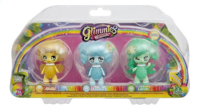 Image pour Figurine Glimmies Rainbow Friends Abella, Lentice et Librille à partir de ColliShop