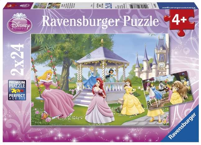 Afbeelding van Ravensburger puzzel 2-in-1 Betoverende Disney-prinsessen from ColliShop