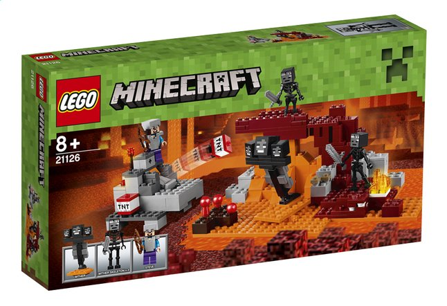 Afbeelding van LEGO Minecraft 21126 De Wither from ColliShop