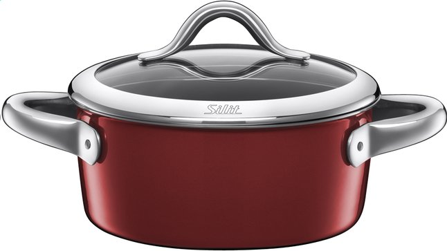 Image pour Silit casserole Vitaliano Rosso 22 cm - 3,1 l à partir de ColliShop
