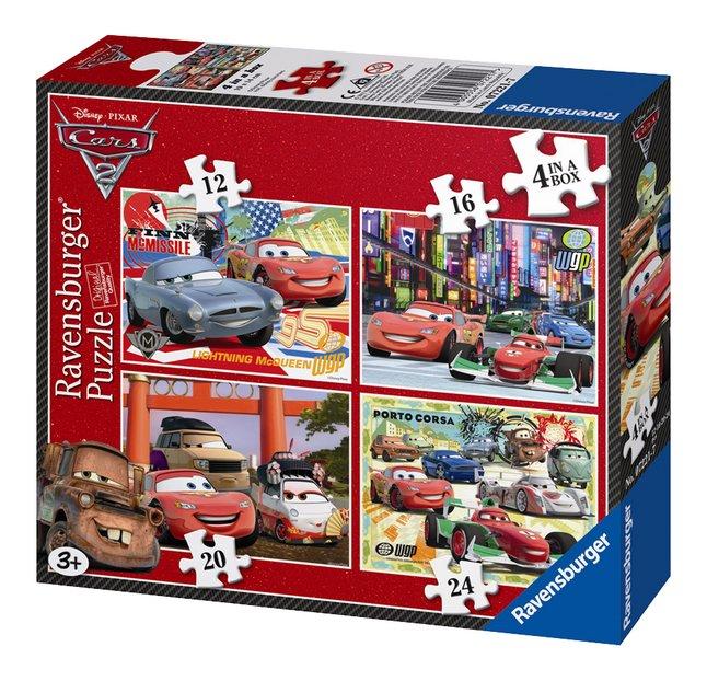 Afbeelding van Ravensburger meegroeipuzzel 4-in-1 Cars 2 from ColliShop