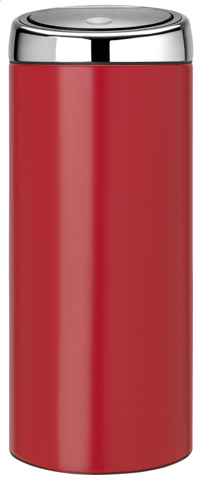 Afbeelding van Brabantia afvalemmer Touch Bin 30 l Passion Red from ColliShop