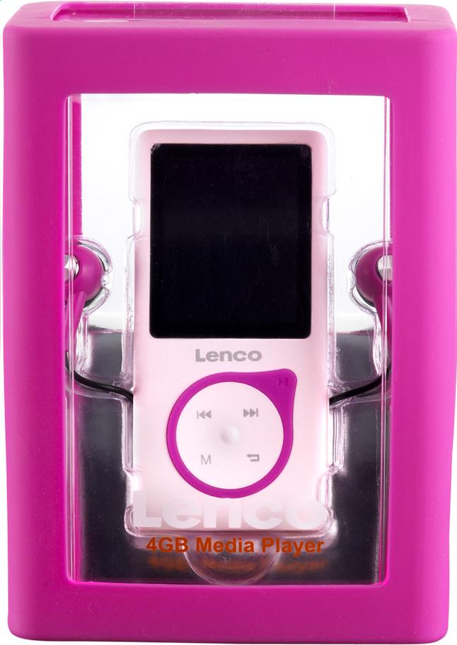 Afbeelding van Lenco mp4-speler Xemio-657 4 GB roze from ColliShop