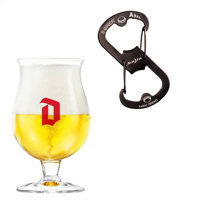Afbeelding van 6 bierglazen Duvel 33 cl from ColliShop