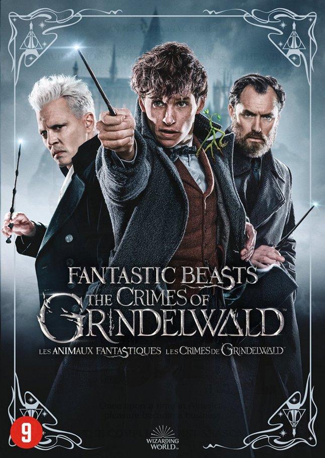 Afbeelding van Dvd Fantastic Beasts The Crimes of Grindelwald + kaarten from ColliShop