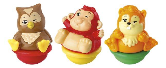 Image pour VTech ZoomiZooz Trio Animaux assortis - singe, écureuil et hibou à partir de ColliShop