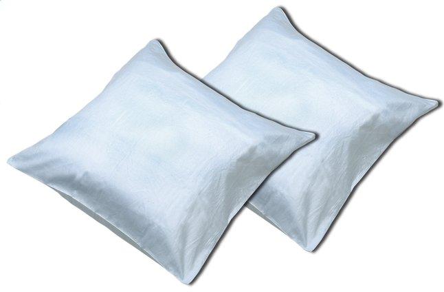Image pour Sleepnight set de 2 taies d'oreiller bleu clair en coton à partir de ColliShop
