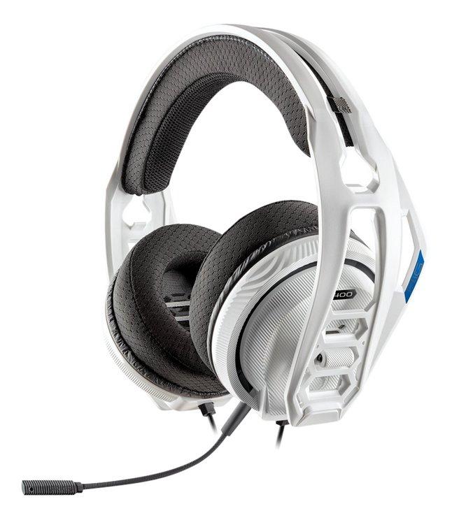Image pour Plantronics casque-micro PS4 RIG 400HS blanc à partir de ColliShop