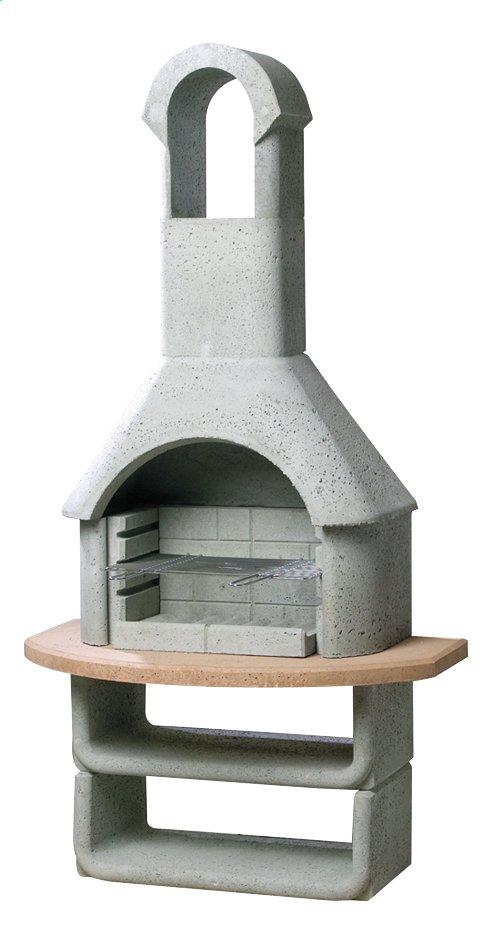Afbeelding van Buschbeck Houtskoolbarbecue Las Palmas betongrijs from ColliShop