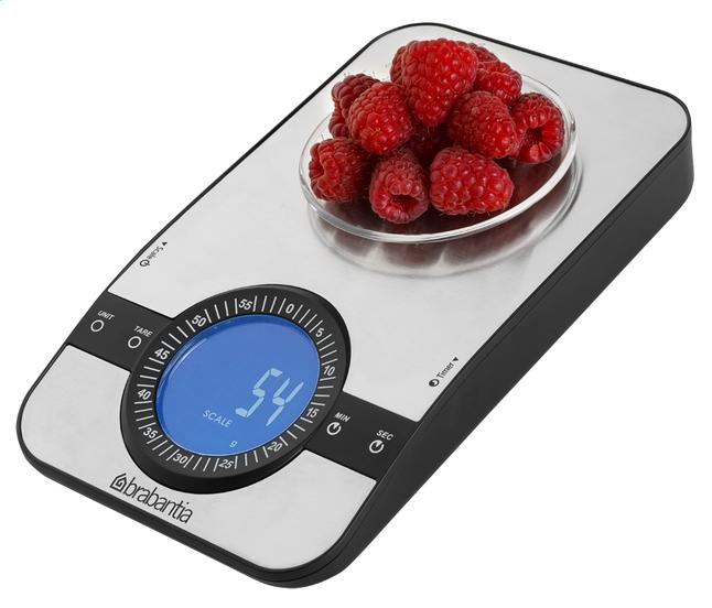 Image pour Brabantia balance de cuisine numérique rectangulaire à partir de ColliShop