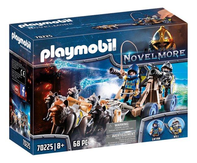 PLAYMOBIL Novelmore 70225 Chevaliers Novelmore avec canon et loups