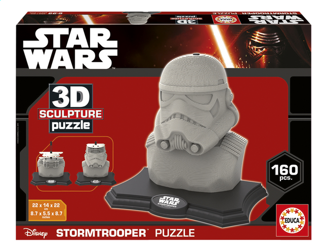 Afbeelding van Educa Borras 3D-puzzel Disney Star Wars Stormtrooper from ColliShop