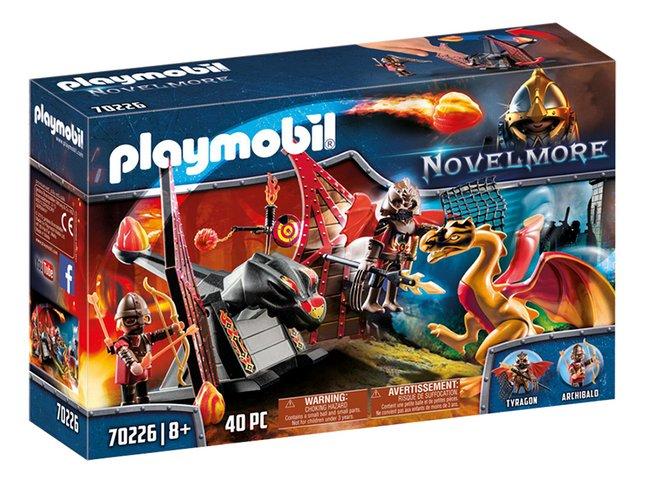 PLAYMOBIL Novelmore 70226 Burnham Raiders et dragon doré