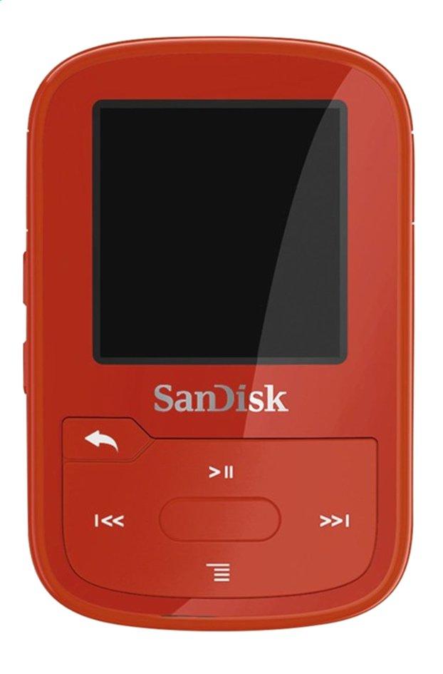 Afbeelding van SanDisk mp3-speler Clip Sport Plus 16 GB rood from ColliShop