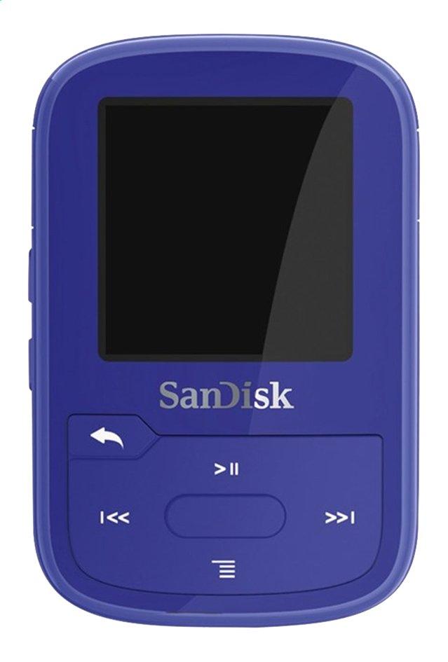 Afbeelding van SanDisk mp3-speler Clip Sport Plus 16 GB blauw from ColliShop