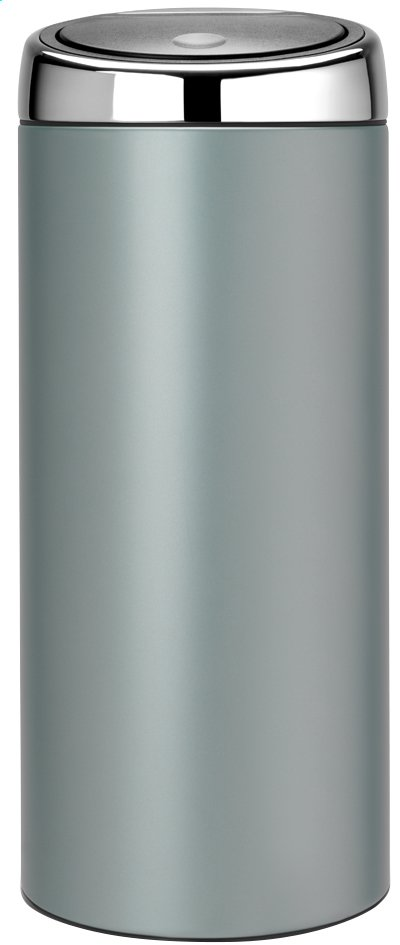 Afbeelding van Brabantia afvalemmer Touch Bin 30 l metallic mint from ColliShop