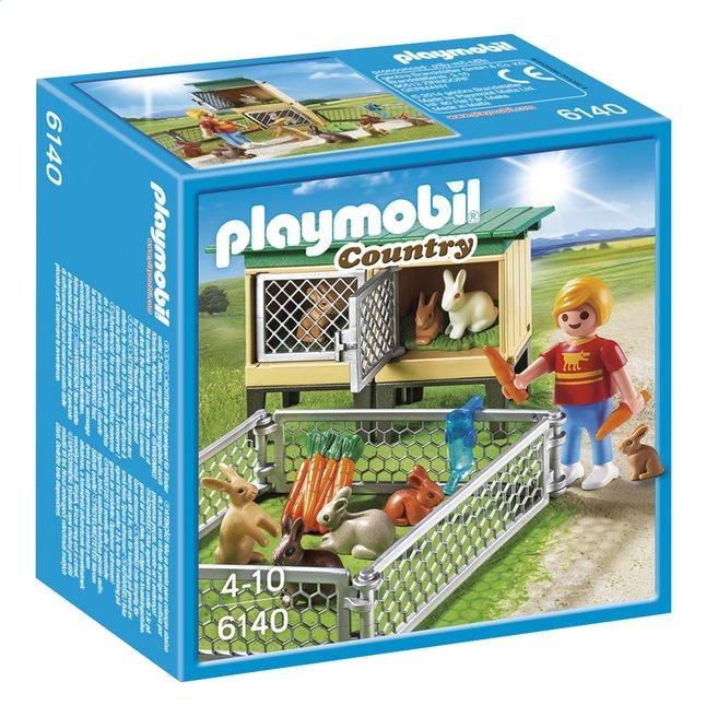 Image pour Playmobil Country 6140 Enfant avec enclos à lapins et clapier à partir de ColliShop