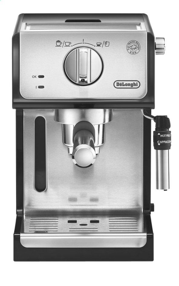 Image pour De'Longhi Machine à espresso ECP35.31 noir/gris argenté à partir de ColliShop