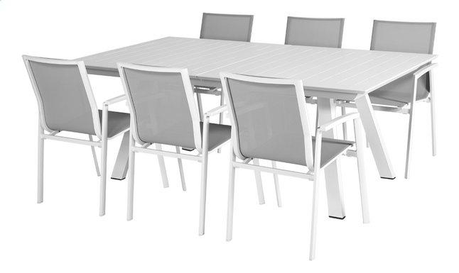 Image pour Ensemble de jardin Lanna 160/240 cm/ Bondi blanc à partir de ColliShop