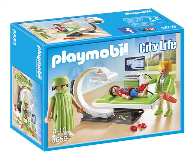 Afbeelding van PLAYMOBIL City Life 6659 Röntgenkamer from ColliShop