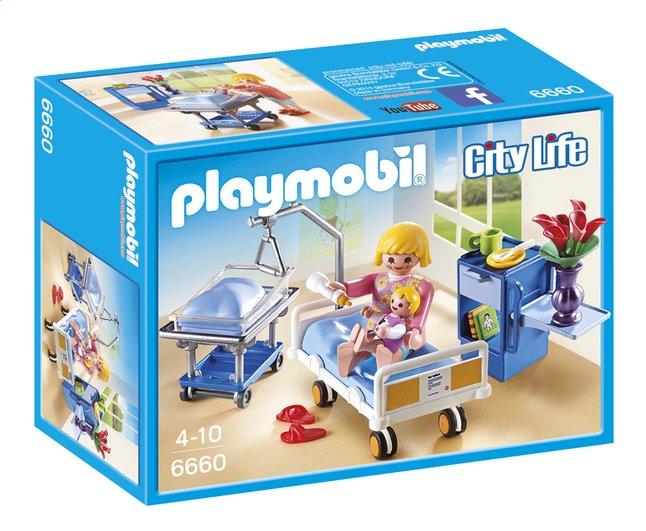 Afbeelding van Playmobil City Life 6660 Kraamkamer met babybed from ColliShop