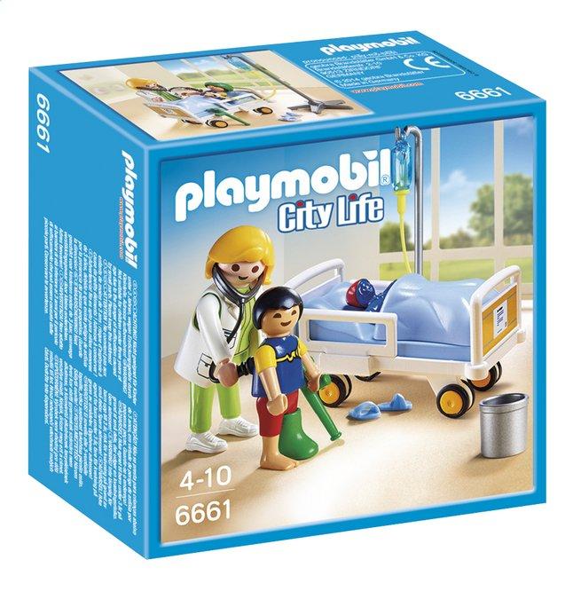 Afbeelding van Playmobil City Life 6661 Ziekenhuiskamer met arts from ColliShop