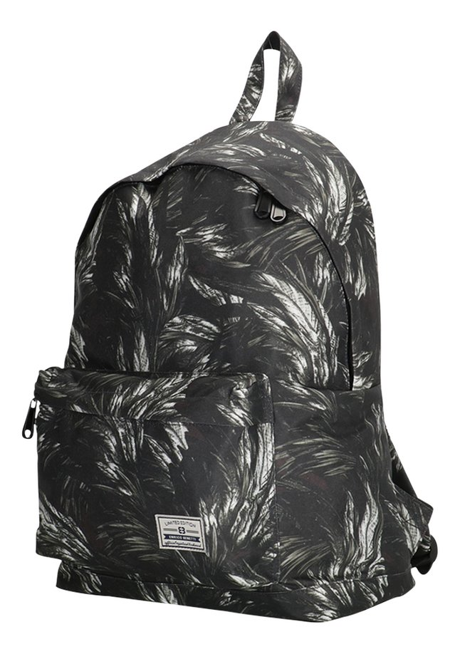 Afbeelding van Limited Edition rugzak 16 l Black Feathers from ColliShop