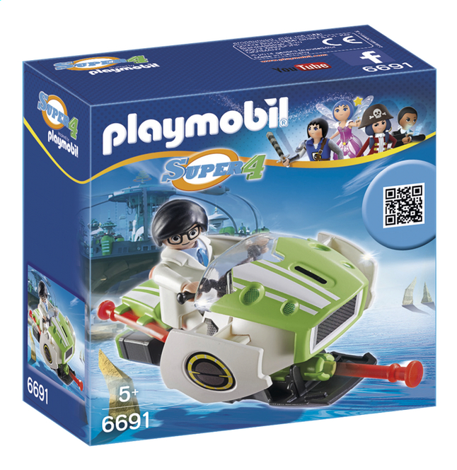 Afbeelding van Playmobil Super 4 6691 Skyjet from ColliShop