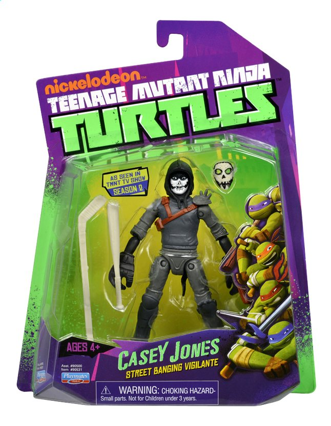Image pour Figurine Les Tortues Ninja Battle Shell Casey Jones à partir de ColliShop