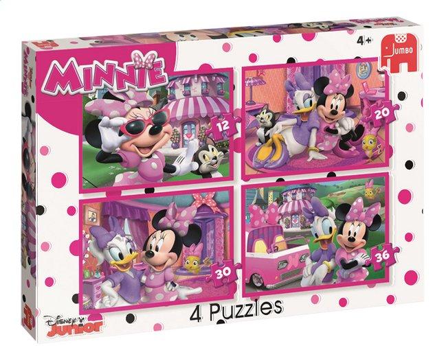 Afbeelding van Jumbo Puzzel 4-in-1 Minnie Mouse Happy Helpers from ColliShop