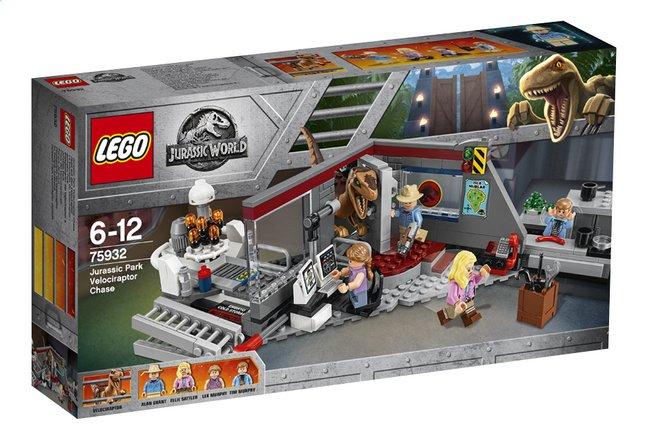 LEGO Jurassic World 75932 La poursuite du Vélociraptor - Jurassic Park
