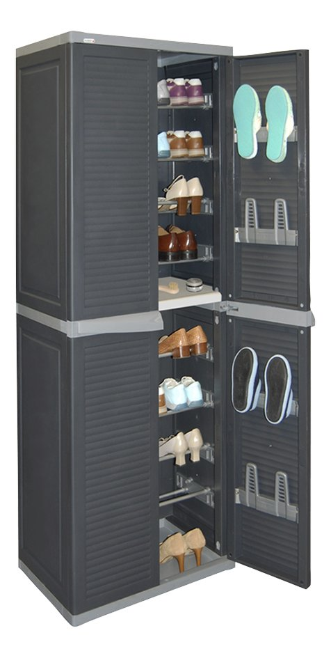 allibert armoire chaussures pour 36 paires collishop. Black Bedroom Furniture Sets. Home Design Ideas