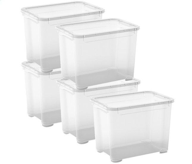 Image pour Kis Boîte de rangement T-Box transparent 29 l - 5 pièces à partir de ColliShop