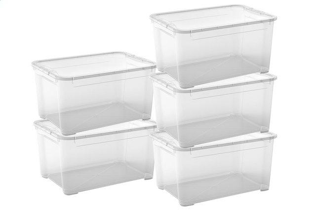 Image pour Kis Boîte de rangement T-Box transparent 62 l - 5 pièces à partir de ColliShop