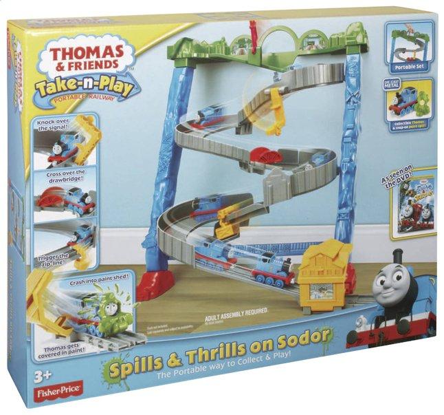 Image pour Fisher-Price set de jeu Thomas & ses amis Take-n-Play Spills & Thrills on Sodor à partir de ColliShop