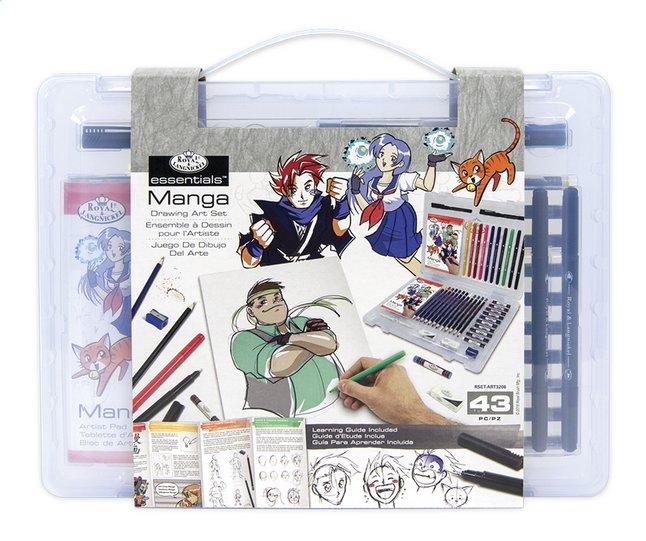 Image pour Royal & Langnickel coffret à dessin Manga à partir de ColliShop