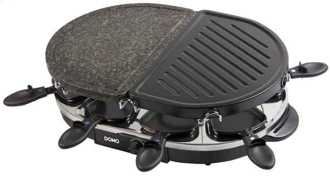 Afbeelding van Domo steengrill-grill-raclette DO9059G from ColliShop